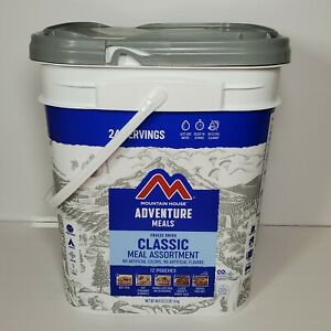 Mountain House Classic Bucket Freeze Dried 24 Servings 12 Emergency Meals