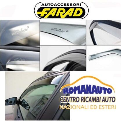 DEFLETTORI ANTIVENTO ANTITURBO FARAD 2PZ MINI COUNTRYMAN 10/> 5P 2010/>