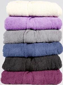 1cff00ada7 Image is loading Mens-Women-100-Cotton-Terry-Toweling-Bathrobe-Dressing-