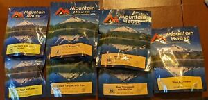 Mountain House Freeze dried camping prepping food Variety Lot