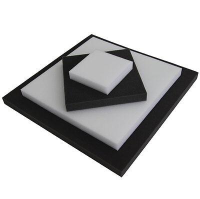 // Schwarz oder Weiß Schaumstoffe Zuschnitt RG 25 nach Wahl in Farben Anth