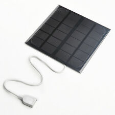 6v 3.5w 580-600MA Solar Panel USB Travel Battery Charger For iPhone US STOCK
