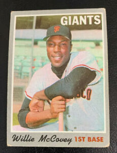 1970-Willie-McCovey-250-San-Francisco-Giants-SF-Topps-Baseball-Card