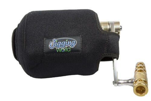 Large Narrow Jigging World Conventional Reel Covers