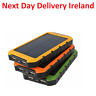 20000mAh Solar Sun Power Bank Charger Battery Travel Camping Powerbank Phone