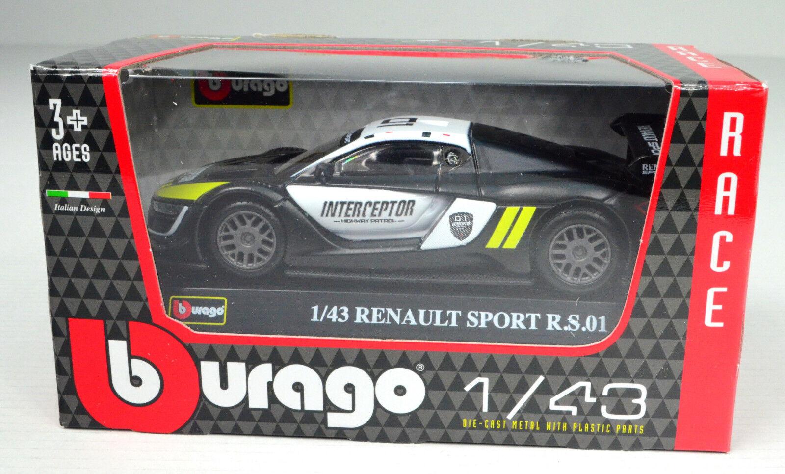 Renault Sport R.S.01 Maßstab 1 43 von bburago