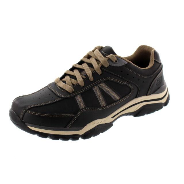 Sneaker Scarpe Skechers Rovato 43 Uomo blacktaupe Eu Texon Nero wqg6zaR4