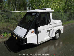 2009-Westward-Industries-Go-4-3-Wheel-Police-Interceptor-Scooter-Heat-Cab-4-Spd