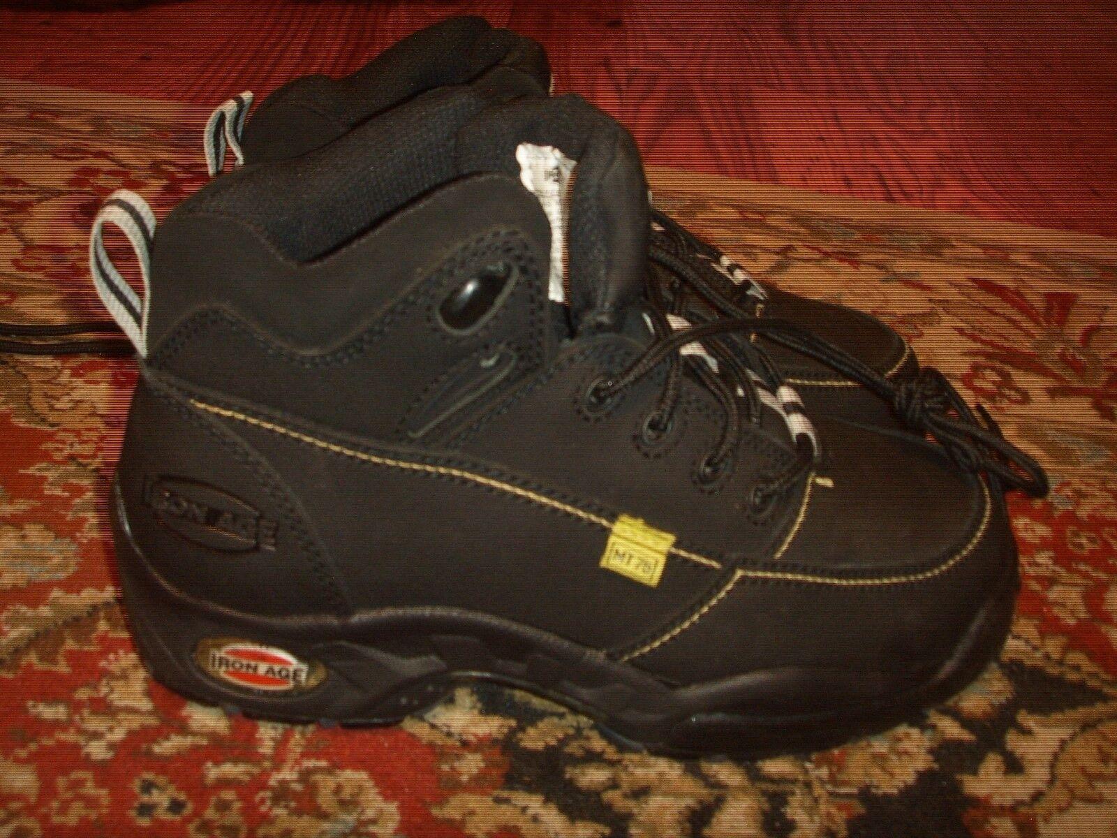 Iron Age High Impact Moc Toe Internal Met Guard Hiker Boot Mens Size 5M
