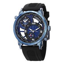 Stuhrling Original Men's 681.02 Renegade Swiss Quartz World Time Watch