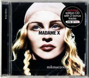 MADONNA-MADAME-X-Special-Edition-UK-Cd-Album-with-BONUS-TRACKS-HMV-Sealed