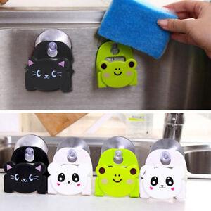 Cute-Kitchen-Sink-Sponge-Holder-Bathroom-Hanging-Strainer-Organizer-Storage-Rack