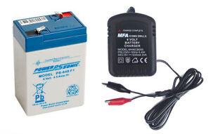 Rechargeable Battery 6 Volt Sealed Lead Acid 4 5ah 6v4 0