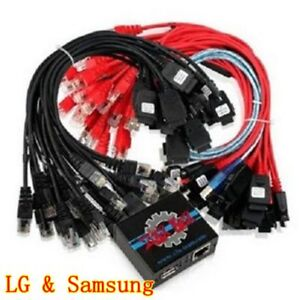 Details about Z3X BOX Activated Flash/Repair Unlocker for LG & Samsung with  56 Cables