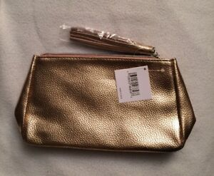 Image Is Loading Nwt Nordstrom Beauty Metallic Rose Gold Tassel Makeup