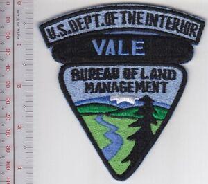 Hot Shot Vale Fire Crew Bureau Of Land Management Blm Oregon Firefighters Ebay