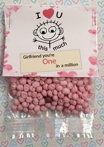 Girlfriend-You-039-re-One-In-A-Million-Sweet-Gift-Novelty-Birthday-Thank-You