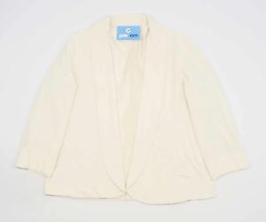 Monsoon-Womens-Size-18-Cream-Lightweight-Work-Occasion-Office-Summer-Jacket-Reg