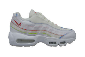 Womens Nike Air Max 95 SE RARE - AQ4138100 - White Rainbow ... 25e2ef8d0