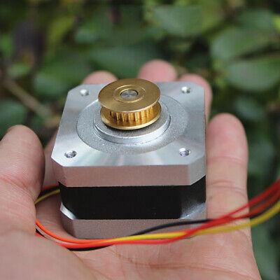 0.9 Degree 42MM NEMA17 2-phase 4-wire Precision Stepper Motor MXL pulley Monitor