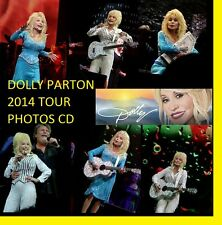 DOLLY PARTON BLUE SMOKE 2014 CONCERT 600 PHOTOS CD LIVE TOUR SET  1 + 2