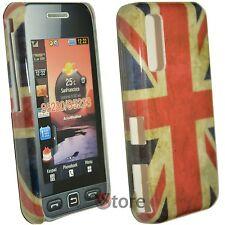Cover Custodia Per Samsung Star WiFi S5230 Bandiera Inglese Retro + Pellicola