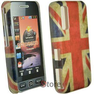 Cover-Schutzhulle-fur-Samsung-Star-Wi-Fi-S5230-Englisch-Flagge-Retro-Starre
