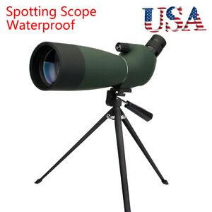 Spotting ScopeSVBONY SV28 25-75x70mm Spotting Scopes Angled Zoom IP65 +Tripod US