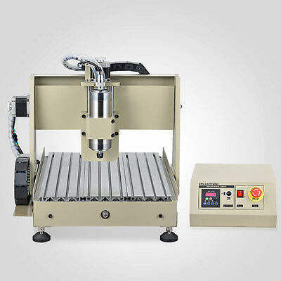 4 Axis 3040 CNC Router Engraver Drill Milling Wood Cutter Tool Ballscrew+MACH3