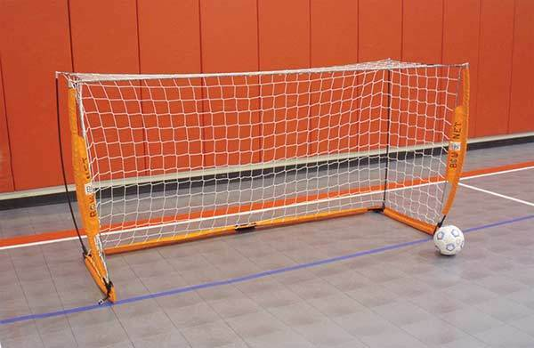 Bownet objetivo de fútbol Bow4x8, práctica de meta de fútbol portátil 4 X 8' fútbol Net NUEVO