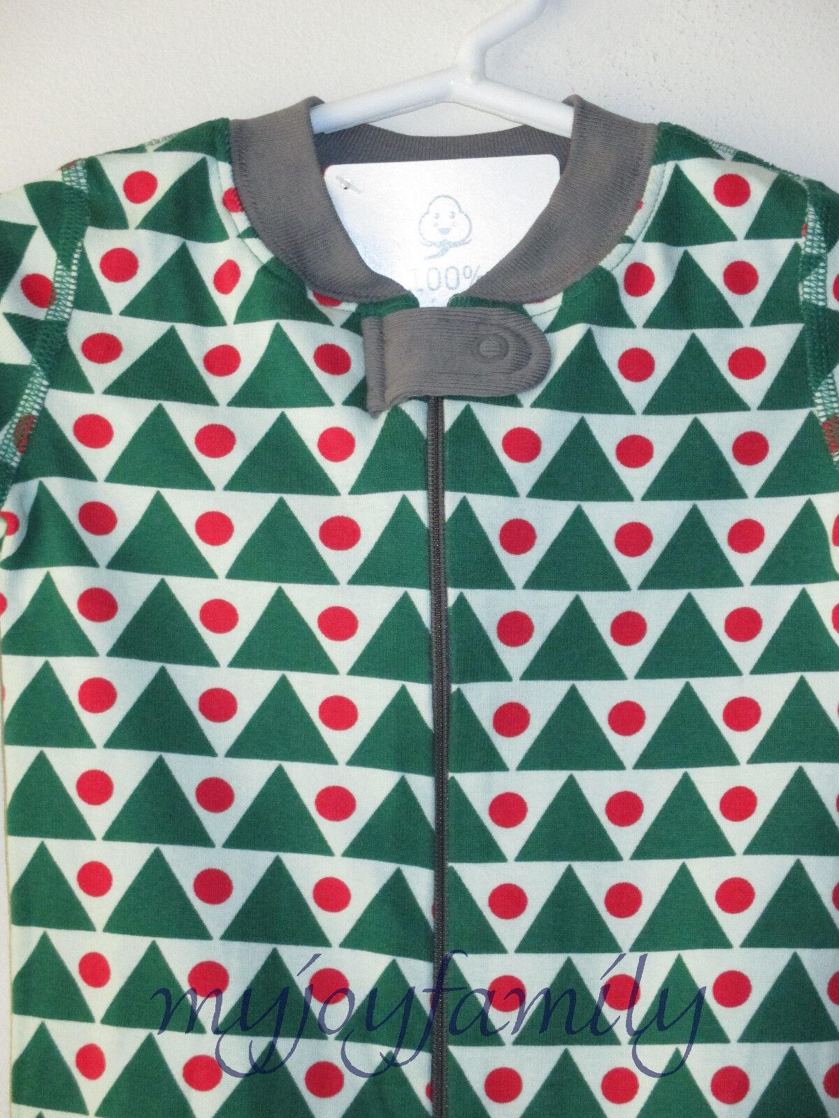 7b5624120 Buy Hanna Andersson Organic Baby ZIPPER Sleeper Geo Green Triangles ...