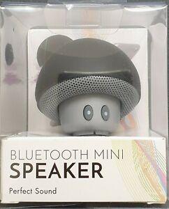 Pilzform Wireless Bluetooth Lautsprecher Speaker, saugt sich am Handy fest
