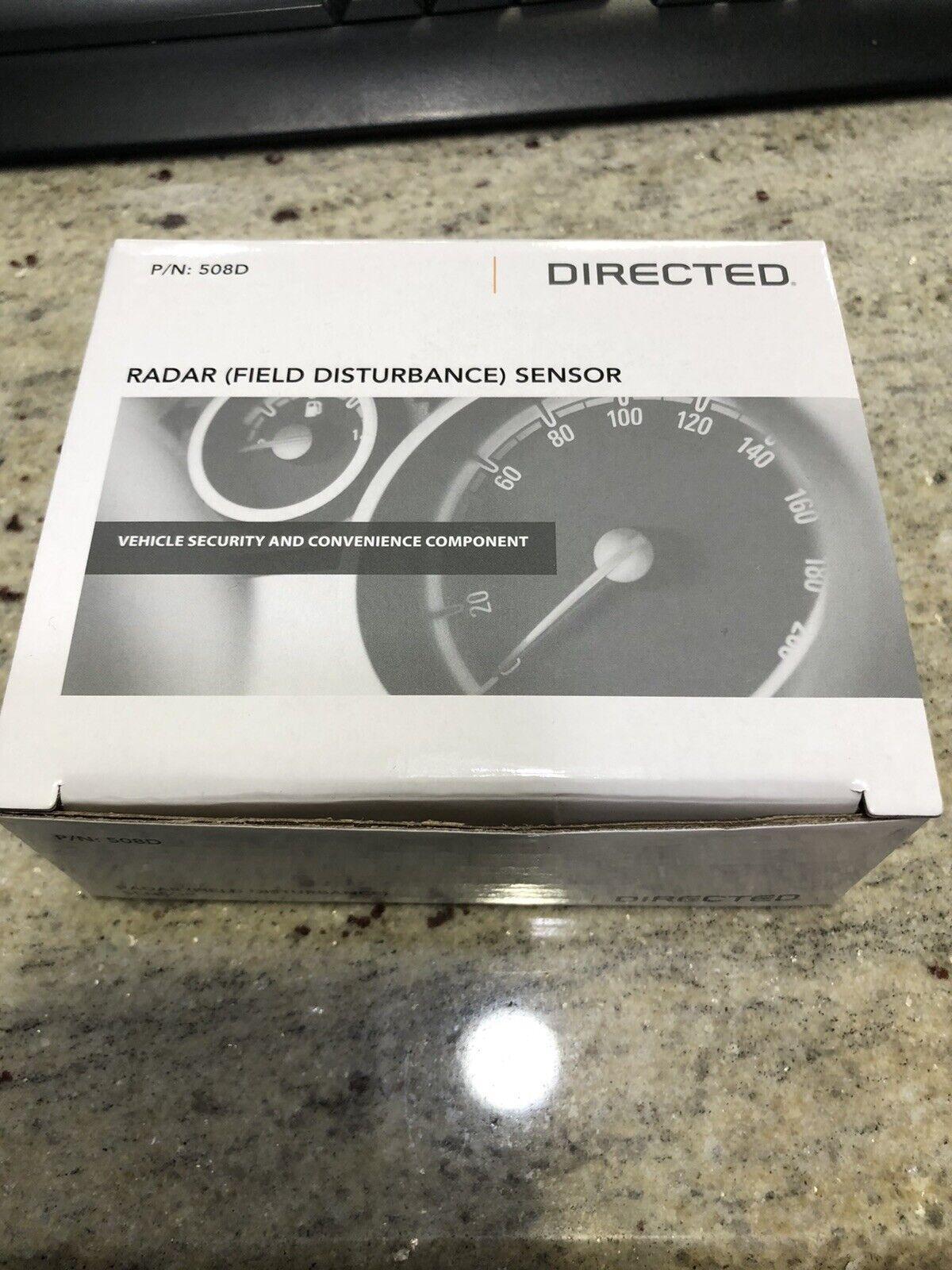 Invisibeam Field Disturbance Sensor DIRECTED 508D DEI Dual Zone Motion Radar