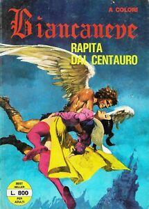 biancaneve rapita dal centauro n.5 novembre 1975 edifumetto