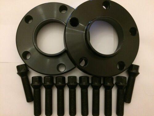 Rueda De Aleación Separadores X 2 Para BMW F30 F31 F32 F33 15mm M14X1.25 72 Negro 3 ser