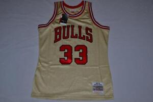 Image is loading Mitchell-amp-Ness-Road-Gold-Swingman-Jersey-CHICAGO- 3f26d1843db