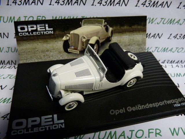 OPE21R voiture 1 43 IXO eagle moss OPEL collection   Geländesportwagen 1934 1938