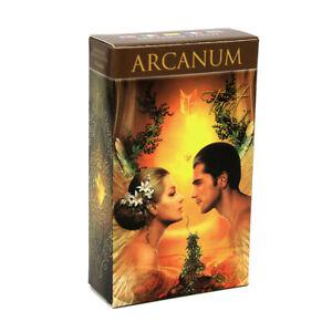 78-x-Arcanum-Tarot-Cards-English-Rider-Waite-Deck-Divination-Prophet-Party-Games