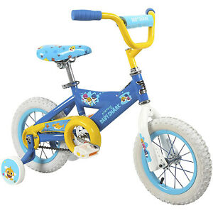 Dynacraft-Children-039-s-12-Inch-Beginner-Kids-Bike-with-Training-Wheels-Baby-Shark