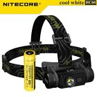 Nitecore HC60 1000LM  LED USB Rechargeable Headlamp Light+3400 mAh 18650 Battery