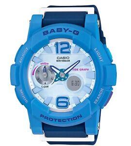 Casio Baby-G * BGA180-2B3 Anadigi GLide Shades of Blue Women COD PayPal