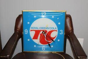 vtg 80s RC COLA ROYAL CROWN LITER OF THE PACK PUN RINGER