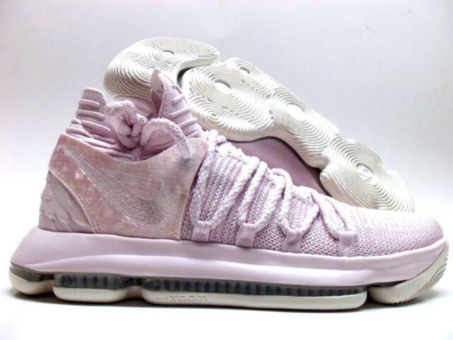 3c8a761de0a6 Nike KD 10 X AP Aunt Pearl Kevin Durant ASG Pink AQ4110 600 NEW ...