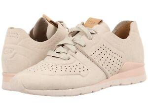 Lace Up 1016674 Geperforeerde Sneakers Ceramicnieuw Damesschoenen Ugg Leren Tye 1lKcJF