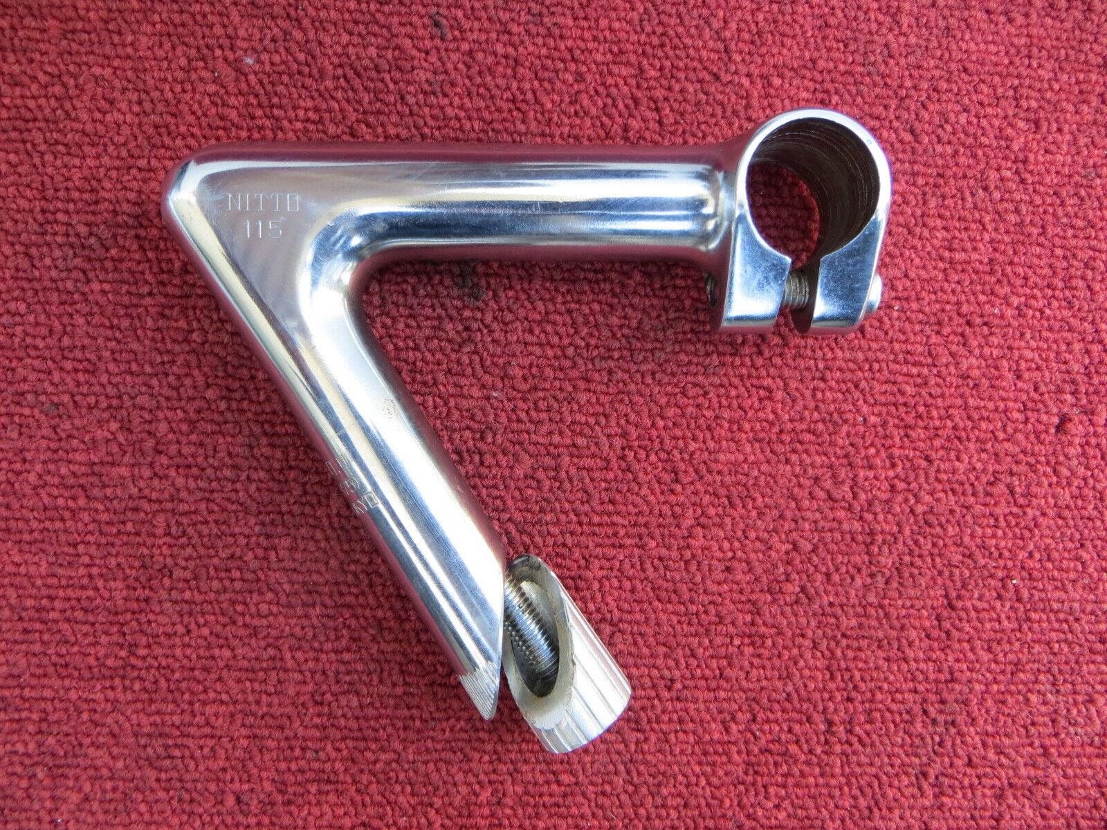 Nitto Jaguar 115mm 58Degree NJS Approved Steel Stem Fixed Gear (18102012)