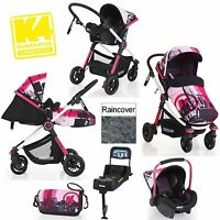 Koochi Litestar Brooklyn Travel System Baby Pushchair Carseat Isofix Base