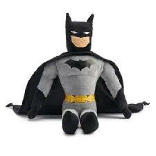 "Kohls Cares Super Hero Batman Plush Soft Stuffed Doll Toy 14/"" 35 cm tall"