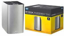 WD 4TB My Book Thunderbolt Duo Desktop RAID External Hard Drive WDBUTV0040JSL