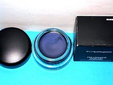 "MAC ""IMAGINARY"" PRO LONGWEAR PAINT POT, NIB, DEEP BLUE PLUM SHIMMER"