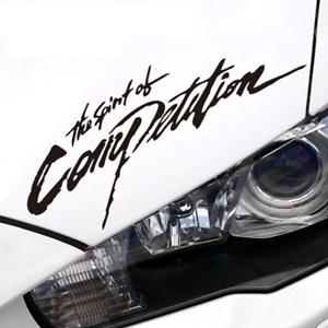 The-Spirit-of-Competition-Sticker-Mitsubishi-evo-Vinyl-Decal-6-034-7-034-8-034-9-034